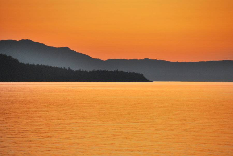 Sechelt Dental Centre - sunset-organge-sky-ocean